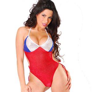 Disfraz De Chilena En Sexy Body