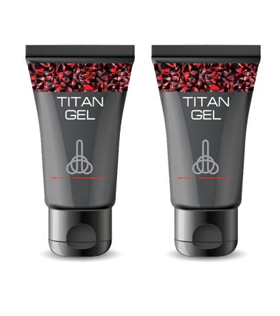 Potenciador Sexual Masculino Titan Gel 2 Unidades