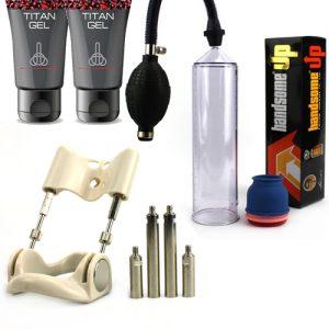 Alarga Y Engrosa Pene Pack 3
