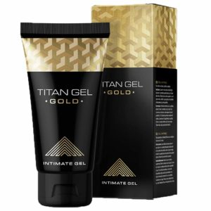 Potenciador Sexual Masculino Titan Gel Gold