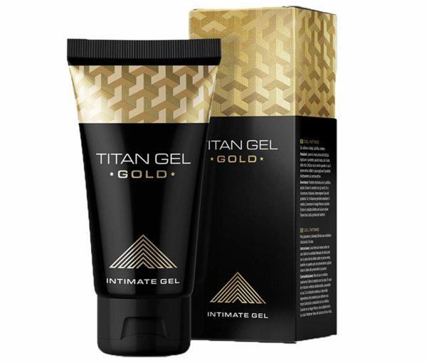 Potenciador Sexual Masculino Titan Gel Gold