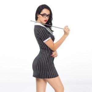 Disfraz De Profesora Sensual En Vestido