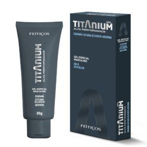 Titanium Gel Retardante De Eyaculación Potenciador Sexual Masculino