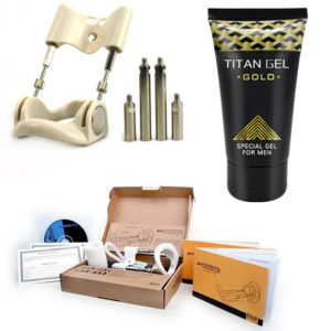 Pro Extender Extensor De Pene + Titan Gel Gold