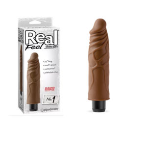 Vibrador Real Feel 1 Fanta Flesh Chocolate