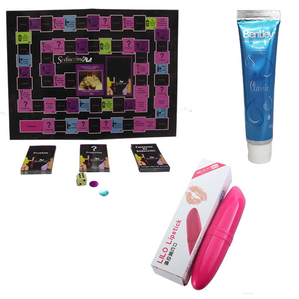 Pack Juego Seduceme Mas Mini Vibrador LILO + Lubricante Bentley 50 gr.