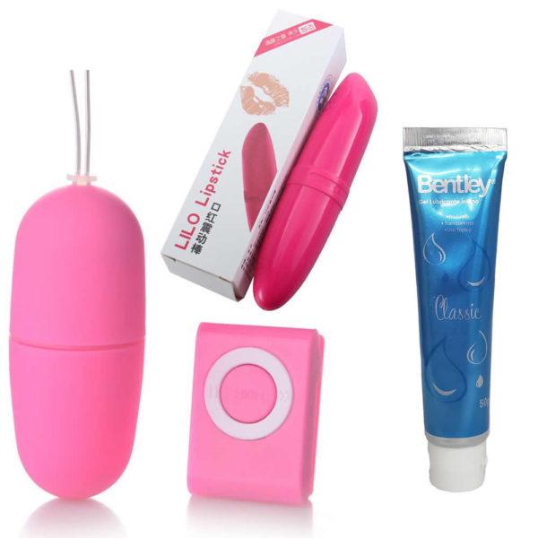 Pack Doble Vibración Femenina + Lubricante Íntimo Neutro