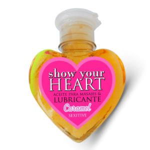 Aceite De Masaje Y Lubricante Sabor Caramelo